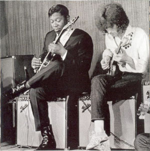 Eric Clapton and B.B. King
