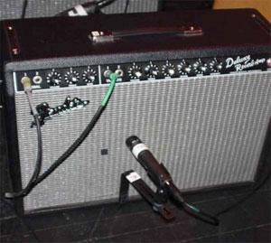 Johnny Lang's Fender Deluxe Reverb Reissue