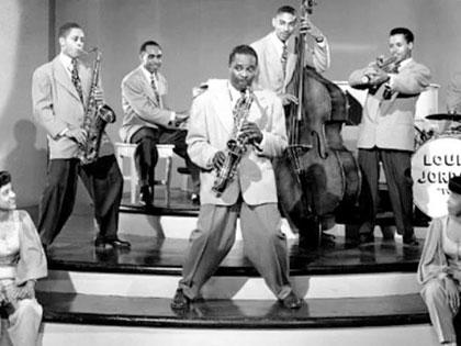 Louis Jordan and the Timpani Five
