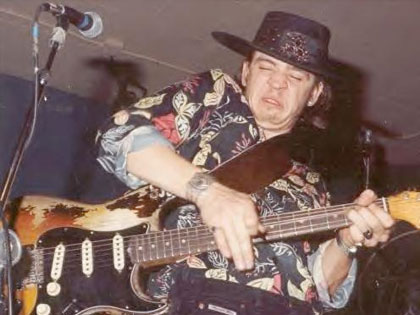 Stevie Ray Vaughan's Fender Stratocaster