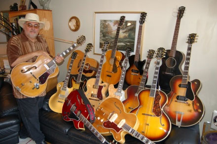Duke Robillard's Gibson Guitars