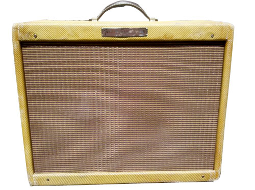early fender deluxe amp