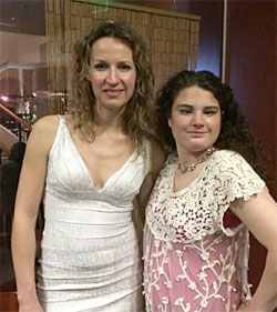 Ana Popovic and Reyna Taylor