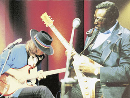 albert king and stevie ray vaughan in session video blues guitar insider. Black Bedroom Furniture Sets. Home Design Ideas